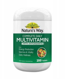 Nature's Way Complete Daily Multivitamin bổ sung vitamin và khoáng chất