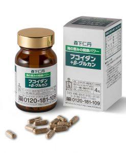 Fucoidan và Beta Glucan hỗ trợ điều trị ung thư 120 viên