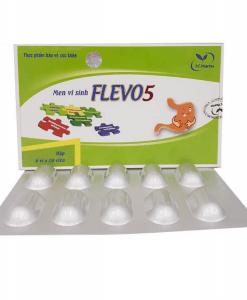 Men vi sinh Flevo5 hỗ trợ tăng cường miễn dịch