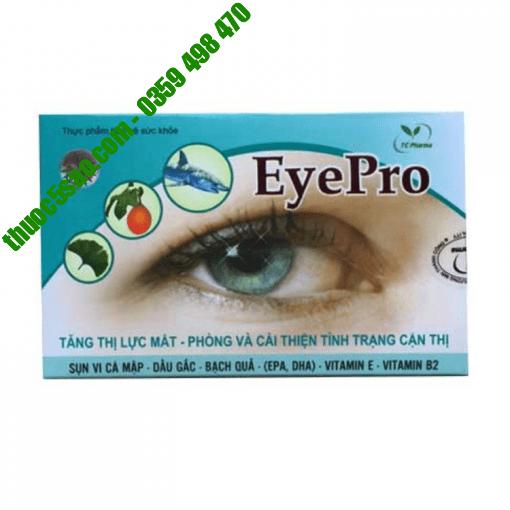 Eye Pro phòng ngừa và điều trị cận thị