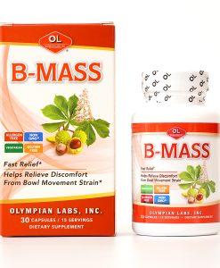 B Mass hỗ trợ điều trị các bệnh trĩ hộp 30 viên