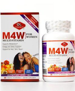 M4W Multi hỗ trợ bổ sung vitamin cho cơ thể hộp 30 viên