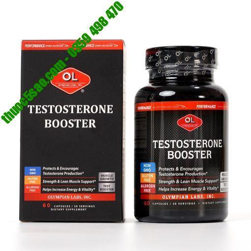 Testosterone Booste tăng sinh lý nam hộp 60 viên