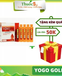 [GIÁ GỐC] Yoyo Gold bổ sung sắt, tăng cường sức khỏe hộp 20 ống