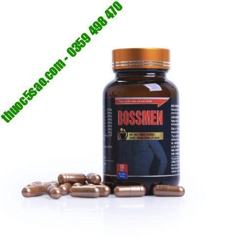 [GIÁ GỐC] Bossmen hỗ trợ cải thiện sinh lý nam hộp 30 viên