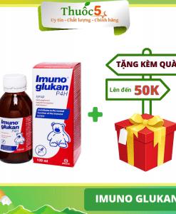 [GIÁ GỐC] Imuno Glukan tăng cường sức đề kháng cho trẻ chai 120ml