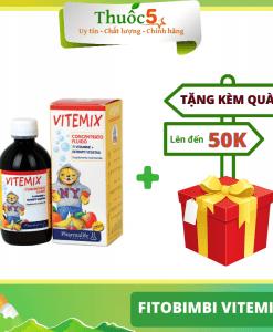 [GIÁ GỐC] Fitobimbi Vitemix bổ sung vitamin và calci lọ 200ml