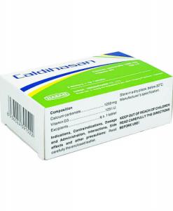 Caldihasan hỗ trợ điều trị loãng xương