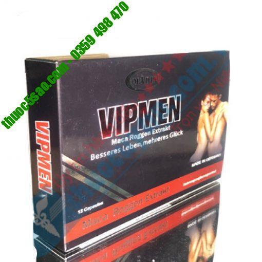 [GIÁ GỐC] Vipmen giúp tăng testosterol nam giới hộp 12 viên