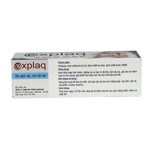 [GIÁ GỐC] Explaq hỗ trợ điều trị bệnh ngoài da vảy nến tuýp 35gam