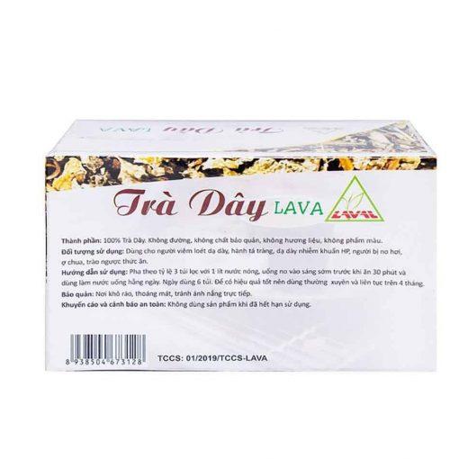 [GIÁ GỐC] Trà dây Lava hỗ trợ đau dạ dày, tá tràng hộp 30 gói